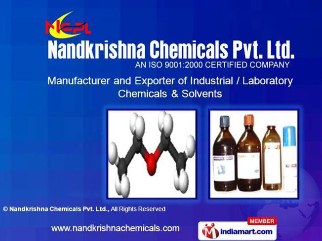 Speciality Chemicals by Nandkrishna Chemicals Pvt  Ltd