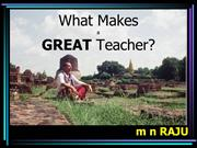 what  makes an effective teacher?