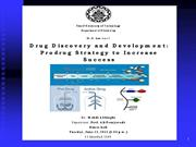 Drug Discovery and Development: Prodrug strategy