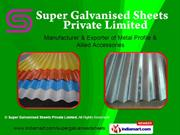 Color Coated Galvanised Sheets By Super Galvanised Sheets Private