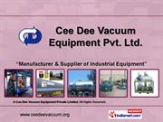 Transformer Oil Filtration Plant By Cee Dee Vacuum Equipment Private
