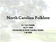 North Carolina Folklore