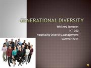 HT-350 Generational Diversity Video