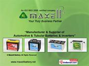 Industrial Tubular Battery & Ups By Maxell Battery Pune