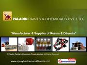 Epoxy Diluents By Paladin Paints & Chemicals Private Limited Mumbai