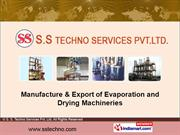 Continuous Fluid Bed Dryers/Agglomeration By S. S. Techno Services