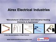 Heating Elements And Appliances By Airex Electrical Industries Delhi