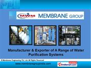 Wastewater Treatment Systems. By Membrane Engineering Pvt. Ltd. New