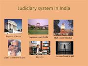 judiciary system in india