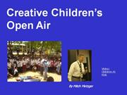 Open air Preaching to Children by Mitch Metzger