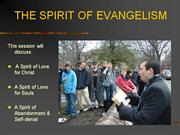 The Spirit of Evangelism by Jesse Morrell