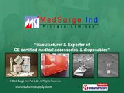 Synthetic Absorbable Sutures By Medsurge Ind Pvt Ltd Chennai