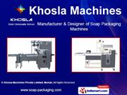 Horizontal Form Fill Seal Machine For Soap (Finseal-11S) By Khosla