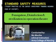 Standard safety measures (