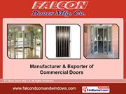 Industrial Doors By Falcon Doors Mfg. Co Mumbai