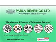 Needle Thrust Bearings By Pabla Bearings Limited Ludhiana