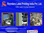 Pharmaceutical Labels By Reynders Label Printing India Private Limited