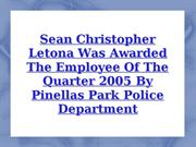 Sean Christopher Letona