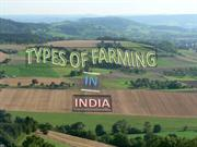 types of farming 2007