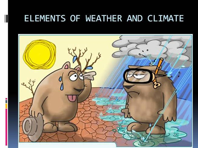 ELEMENTS of WEATHER AND CLIMATE.Pps |authorSTREAM