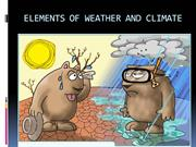 ELEMENTS OF WEATHER AND CLIMATE.pps