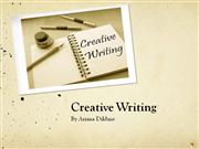 Creative Writing Tutorial - ENG 300