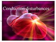 conduction disturbances