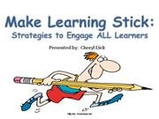 Make Learning Stick