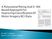 A Polynomial fitting And KNN Based Approach For Improving Classification