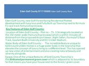 Eden Golf County 9717155600 Eden Golf County Plots, eden county plots