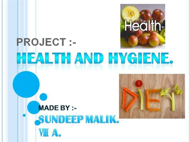 HEALTH AND HYGIENE  |authorSTREAM