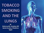 tobacco smoking and the lung
