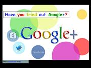 Have you tried out Google+?