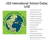 international schools in dubai