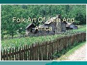 folk art of asia and africa