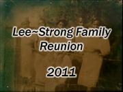 lee/strong family reunion