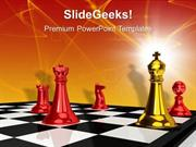 BUSINESS CHECKMATE GAME LEADERSHIP PPT TEMPLATE