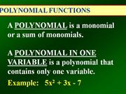 Polynomial_Functions