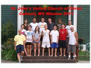 st. john's ucc youth mission trip - july 2011
