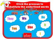 Game - Personal Pronouns