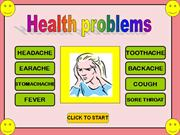 HEALTH PROBLEMS GAME