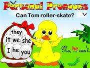 Personal Pronouns (2 of 3) - Game