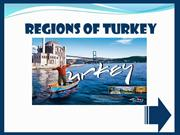 REGIONS OF TURKEY - GAME