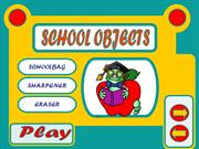 SCHOOL OBJECTS - GAME