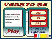 VERB TO BE (AFFIRMATIVE) - GAME
