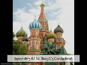 Interiors of St. Basil's Cathedral