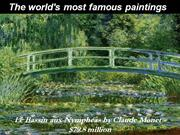 World's Most Expensive Paintings