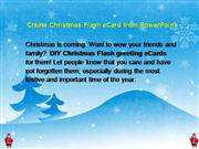 Create Christmas eCard from PowerPoint