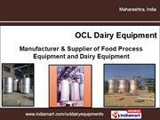 Fabrication Works By Ocl Dairy Equipment Pune