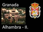 Andalusia - Granada - Alhambra 2